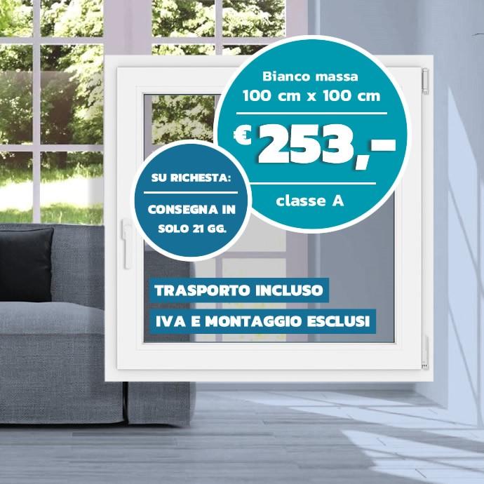 Finestre in PVC Veka SL 76 MD :: miglior prezzo garantito