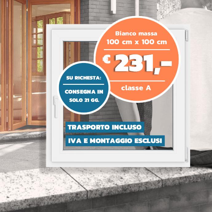 Finestre in PVC Veka SL 70 AD :: miglior prezzo garantito